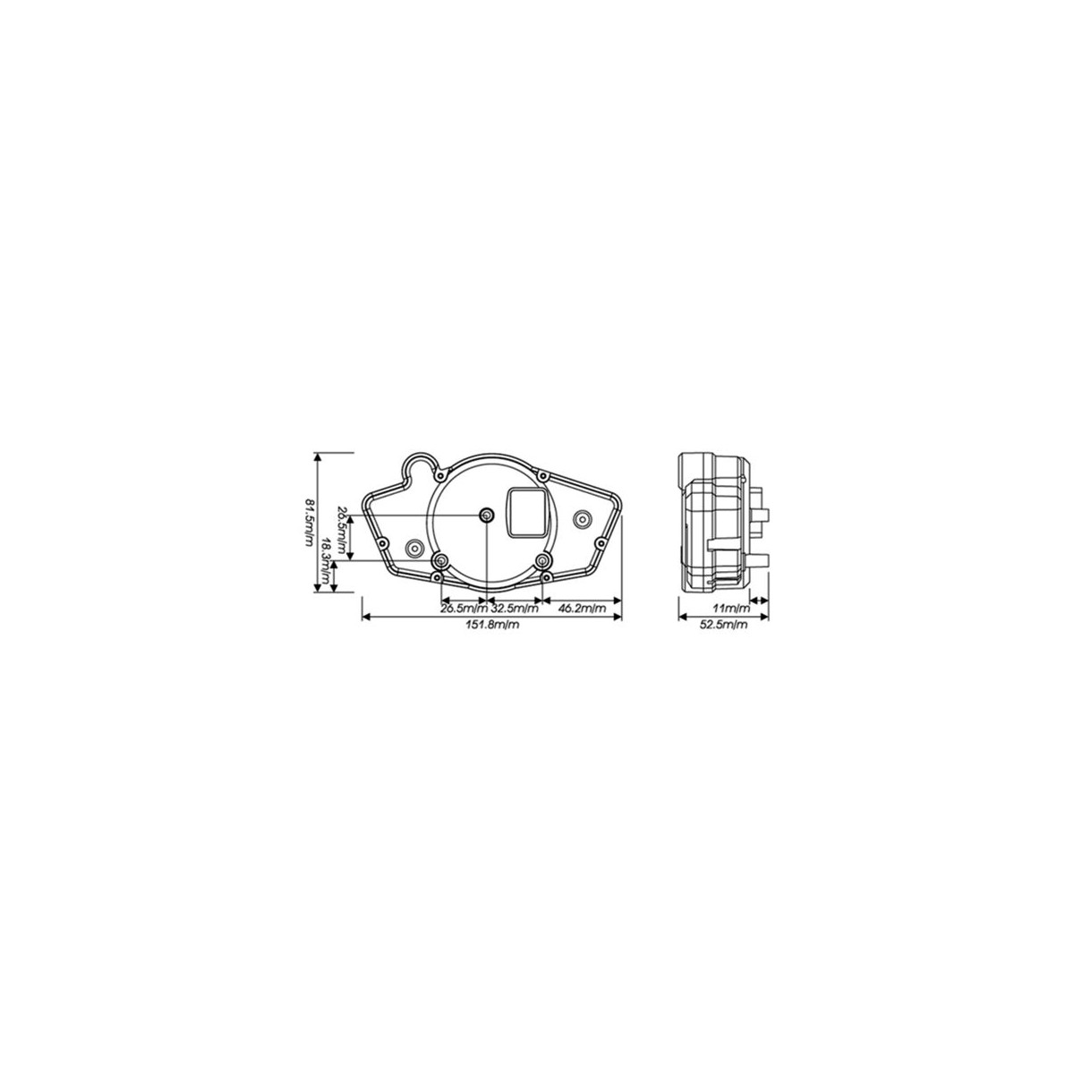TEMPERATURA M12x1,5x15mm ADATTATORE SENS BG241215